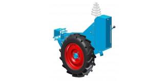 Boîte de distances bloc roue intégré