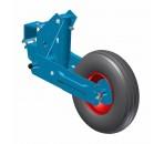 Bloc roue trainé 5''