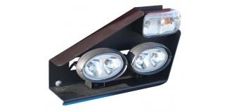 Układ oświetlenia & sygnalizacji podsiewacza czołowego DUO