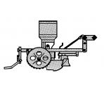 Sekcja wysiewająca/robocza (1967 - 1985)