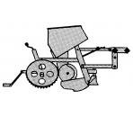 Sekcja wysiewająca/robocza (1972 - 1982)