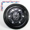 ROUE AUTO-NETTOYANTE 300x100 NOIRE ELT SC/NC (avec rondelle ID)
