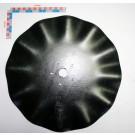 COUTRE DIA 430 ep 4 GRANDE ONDULATION TROU CENTRAL DIA 32 mm + 5 TROUS