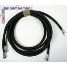 FLEXIBLE HYDRAULIQUE Lg 3m00 (F18x1.5) (PRESSION 330 BARS)