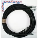 FLEXIBLE HYDRAULIQUE Lg 5m00 (F18x1.5) (RECEPTION PAR LOT DE 2  AVEC MARQUAGE DE