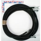 FLEXIBLE HYDRAULIQUE Lg 1m50 (F18x1.5) (PRESSION 330 BARS)