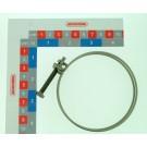 COLLIER INOX DBLE FIL D80 -  85  MPCDWC4080