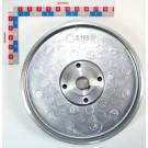 POULIE TURBINE 540 tr/mn pour POMPE PLAN 20015413A du 28.09.09   ***remplacée par 20077851***