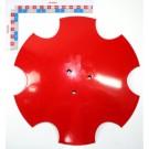 DISQUE CRANTE DE TRACEUR Diam. 350mm R=525 3 TR.CA.9 S/64 mm.