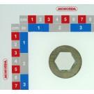 BAGUE SIX PANS INT.23 EXT.40 Lg 16mm (chassis extend)  ZN BLANC 200HBS PLAN 20048210A du 10.01.19
