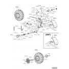 Bloc roue mobile et réglable
