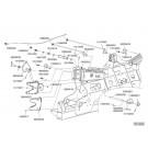 Châssis repliable CRT - crochets de verrouillage (1)