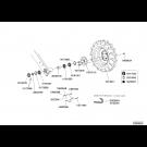 Bloc roue entrainement - fertiliseur avant DUO (4)