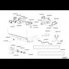Eclairage & signalisation fertiliseur avant simple électrique