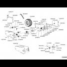Bloc roue châssis trainé 7'' (3)