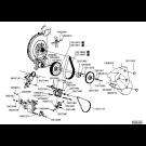 Montage alternateur turbine électrique MD-GD