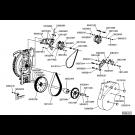 Montage alternateur turbine électrique DF
