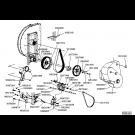 Montage alternateur turbine électrique TGD