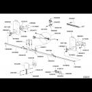 KIT SIGNALISATION CHARIOT DE TRANSPORT C127 NON ESCAMOTABLE