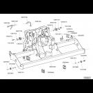 Châssis repliable TFC 2 2015 - partie centrale