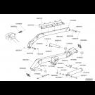 Châssis repliable TFC 2 2015 - ensemble bielles gauche