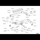 Châssis repliable TFC 2 2015 - ensemble bielles droite