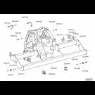 Châssis repliable TFC 2 VB 2017 - partie centrale