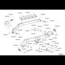 Châssis repliable TFC 2 VB 2017 - ensemble bielles gauche