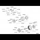 Bloc roue arrière déporté 370x170 NC Technic