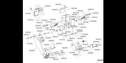 Bloc roue châssis trainé 7'' (2)