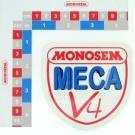 """PEGATINA """"MONOSEM MECA V4"""""""