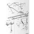 Rear frame - 50x50mm bar